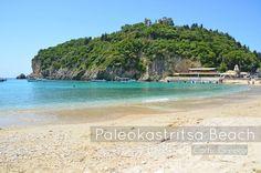 We Took the Road Less Traveled: Corfu, Greece: Paleokastritsa Beach
