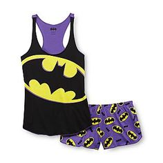 DC Comics Batman Women's Racerback Pajamas