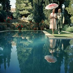 Slim Aarons Prints, Greek Garden, Jeff Leatham, Old Money, Attractive People, Lake Tahoe, Photographic Prints, Garden Art, Vintage Photos