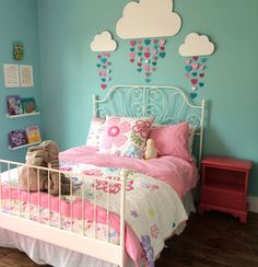 Kids room ideas for girs turquoise pink 57 Super Ideas Big Girl Rooms Girs Ideas Kids pink room super Turquoise Teen Bedroom, Bedroom Decor, Kid Bedrooms, Teen Girl Bedding, Girls Room Wall Decor, Bunk Rooms, Childs Bedroom, Shared Bedrooms, Girl Nursery