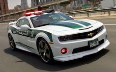 Dubai Police Adopt Chevy Camaro SS