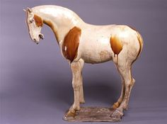 Horse, North China; Tang period (618-906), early 8th century