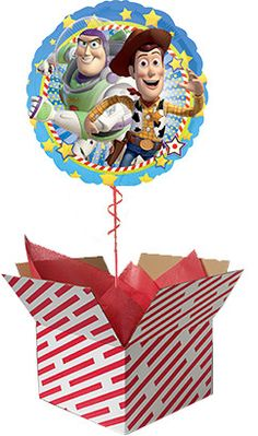 This Toy Story Helium Balloon will make a great surprise for Toy Story fans of all ages. Sent already inflated with helium, it's sure to be a big surprise. Order you Toy Story balloon online for next day UK delivery. Balloons Online, Helium Balloons, Gifts For Boys, Toy Story, Teddy Bear, Toys, How To Make, Art, Activity Toys