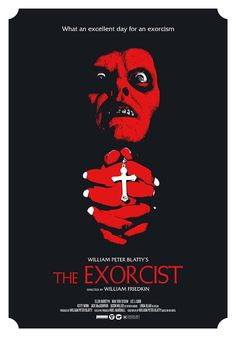 Exorcist Movie, The Exorcist, Arte Horror, Horror Art, Horror Movie Posters, Horror Movies, Best Classic Movies, Movie Covers, Horror Show