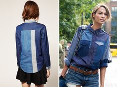 ¿Color block de jean? - Fashion Love Venezuela