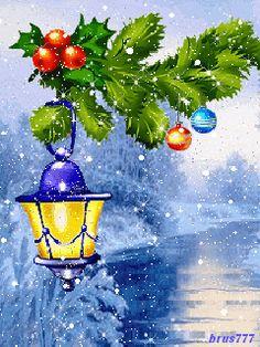 ❄️ CHRISTMAS WINTER SNOW GIF ❄️
