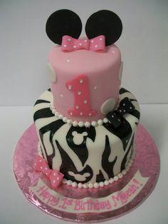 Minnie mouse zebra