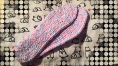 靴の中敷  毛糸  100均 の作り方