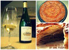Wine Passport #vin #vouvray #wine #cake #galette #épiphanie #dégustation #food #pairing