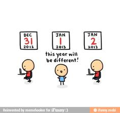 haha this is alot of peoples resolutions but it never works out that way haha