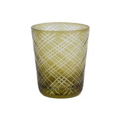 Olive glass Scotish.