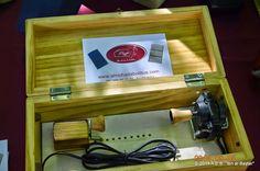 Interesting electric bobbin winder