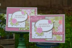 Oh So Succulent Bundle from Stampin' Up!