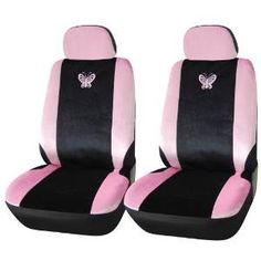 Adeco [CV0203] girly Front Seat Covers  http://www.thecarmania.com/best-girly-car-seat-covers/