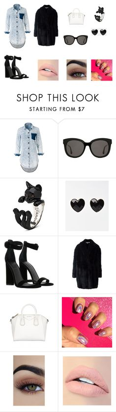 """""""you and I? always"""" by withered-ros ❤ liked on Polyvore featuring Gentle Monster, Kendall + Kylie, Alexander McQueen, Givenchy and Jouer"""