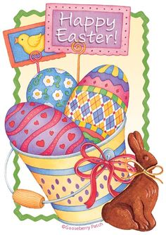 Happy Easter from Gooseberry Patch Easter Peeps, Hoppy Easter, Easter Bunny, Happy Easter Wishes, Gooseberry Patch, Easter Pictures, Easter Parade, Coloring Easter Eggs, Easter
