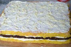 Prajitura cu ciocolata alba si bezea de cacao | MiremircMiremirc Pie, Desserts, Aurora, Food, Salads, Torte, Tailgate Desserts, Cake, Deserts