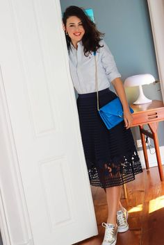 || Rita and Phill specializes in custom skirts. Follow Rita and Phill for more midi skirt images.