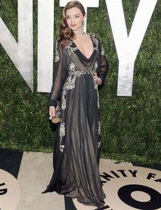 Miranda Kerr in Valentino Couture
