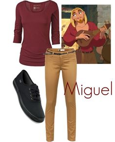 Miguel - Road to El Dorado (I partially find this hilarious...)