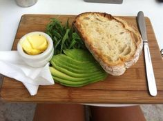My two favorite foods avocado & bread