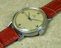Omega 30T2 SC 1940s manual wind watch