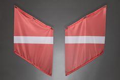 Fahnen | Armfahnen | flags | armflags | Fanartikel | Merchandising | Lettland, Latvia, Lettonie für 14,95 Euro
