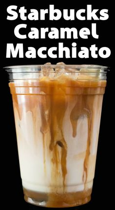 Save money by making an Iced Caramel Macchiato at home, just like Starbucks! Espresso or coffee over milk with vanilla syrup and caramel. This copycat version of an Iced Caramel Macchiato tastes just like Starbucks! Iced Coffee At Home, Iced Coffee Drinks, Coffee Drink Recipes, Espresso Drinks, Easy Coffee, Homemade Iced Coffee, Sweet Iced Coffee Recipe, Iced Coffee With Keurig, Easy Ice Coffee Recipe