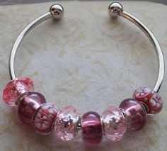 Just Plum Pretty in Pink A European Style by BlingItOutLoudCharms