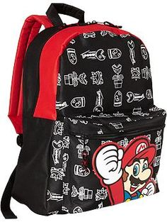 1735e78e884b Super Mario Backpack - Handful Picks for Players