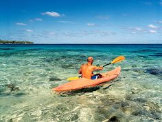 Kayaking off Huahine Island - photo by Diane Cook and Len Jenshel I Want To Travel, Great Barrier Reef, Bora Bora, Dream Vacations, Kayaking, Places To Go, Beautiful Places, Scenery, Destinations