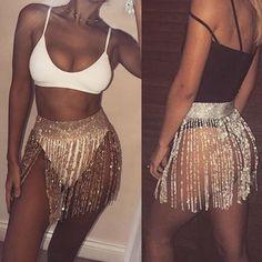 Women Body Belly Crystal Waist Chains Long Tassel Fringe Belt Skirt Club Dress   Jewelry & Watches, Fashion Jewelry, Body Jewelry   eBay!