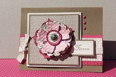 Just Julie B's Stampin' Space: Layers of Fun Flowers with a Mojo Monday
