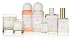 mermaid perfume collection...fragrance orange blossom flowers