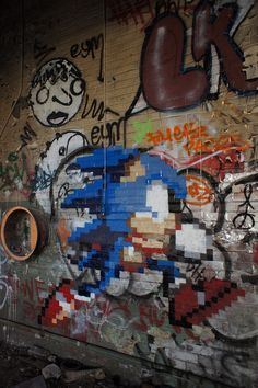 Sonic the Hedgehog by gameboyone░, via Flickr
