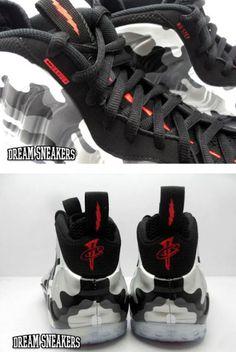 Nike Foamposite Fighter Jet Camo Sneaker (New Release Date + Images)