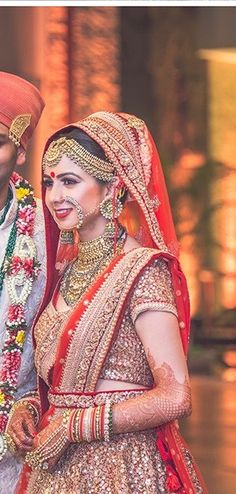 Indian Bride | Traditionnal Look | Beautiful & Stunning