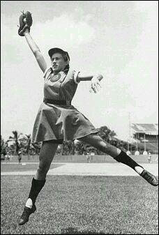 All American Girls professional baseball team.