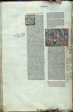 Bible, MS M.791 fol. 58v - Images from Medieval and Renaissance Manuscripts - The Morgan Library & Museum
