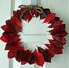 Fall Leaf Wreaths