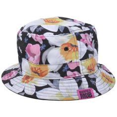 d84df725cb2 Married To The Mob Floral Plant Pattern Urban Bucket Hat