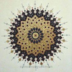 Art of Islamic pattern Islamic Art Pattern, Arabic Pattern, Pattern Art, Islamic Calligraphy, Calligraphy Art, Mandala Art, Inspiration Wand, Motif Oriental, Turkish Art