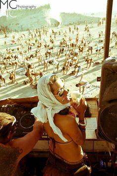 YOGA @Burning Man