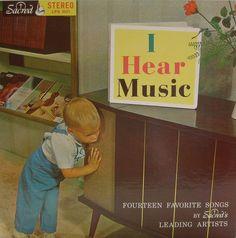 I hear music.