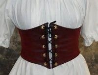 Faux Leather Waist Cincher Corset For Women - Bing images