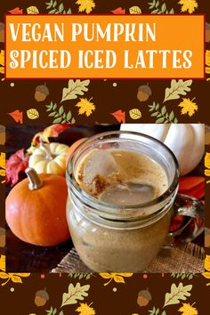 Pumpkin Spice Syrup, Vegan Pumpkin, Gluten Free Recipes, My Recipes, Coffee Ice Cubes, Iced Latte, Beverages, Drinks, Vegan Vegetarian