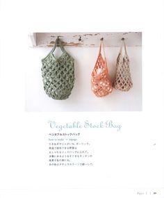 Pretty color crochet goods