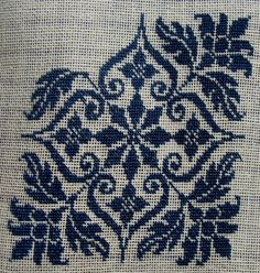 Cross Stitch Borders, Cross Stitch Flowers, Cross Stitch Designs, Cross Stitching, Cross Stitch Embroidery, Ribbon Embroidery, Hand Embroidery Design Patterns, Diy Crafts Hacks, Tapestry Crochet