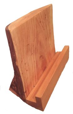 SALE!! Mothers Day Present - Cookbook Holder made from solid wood.