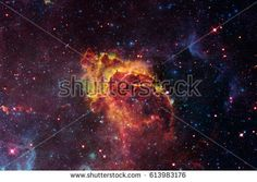 Amazing nebula in deep space. Elements of this image furnished by NASA.